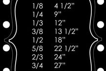 sizes for fabric