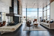 interior mountain house modern