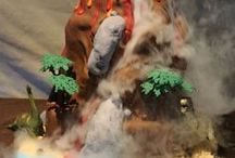 Bolo vulcão