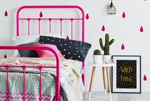 kids bedroom pink