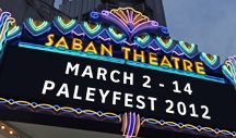 Palyefest 2012 / This is the board of Playfest events I was able to attend while in Los Angles..........