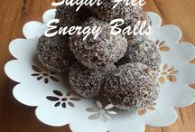 Stuff to eat - healthy treats / Energy Balls, Protein balls, muffins, cakes, bars.