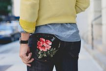 Guys like flowers too / Floral patterns, prints and other motifs do not have to remain feminine fashion aspects. Guys can be masculine and include flowers/floral inspired ideas within their style too.