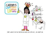 Mad Science Party / How to throw a mad science birthday party, including invitations, activities, decorations, and dessert table ideas.