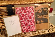 Papercut cards / Handmade cards cut from paper and card