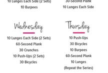 Fitness / 7 day work out