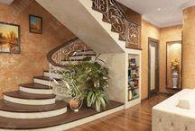 Дом лестница