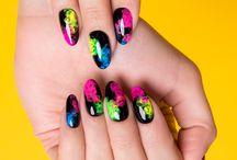Indigo Spring / Summer Nails