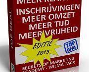 GRATIS eBook / Download GRATIS de eerste 6 hoofdstukken van de  'Secrets of Marketing Methode - Top Deal'. Dit is speciaal ontworpen voor diegenen die vooraf een serieus inkijkje willen hebben in deze methode en wat dat voor jou en de groei van jouw MLM of Netwerkmarketing bedrijf kan betekenen.