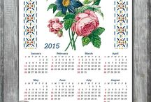 Calendars, planners / Year calendars, wall calendars, desktop calendars, planners