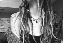 Natural dreadlocks / My love for dreadlocks. My natural dreadlocks journey. Free form locs. Neglect method.
