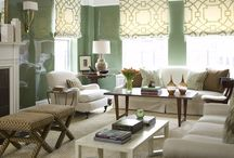 Decorating with shades of green