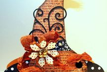 Halloween: Handmade Cards / Handmade a Halloween cards and Halloween paper craft ideas for die cutting.