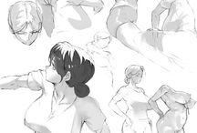 Anatomy drawing (manga)