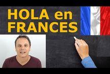 Clases de francés en vídeos / Aquí encontrarás vídeos de clases de francés, expresiones, diálogos en francés, todo tipo de material para aprender francés!