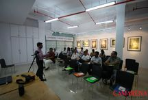 WORKSHOP on Basics of Digital Photography / Workshop conducted at CAMARENA Super Store at E-mall for customers of CAMARENA who had purchased DSLRs.