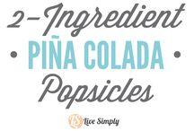Popsicles Ijslollies