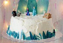 Decoração Frozen - Festa de aniversário / Muitas ideias de decoração para festa infantil com tema Frozen!