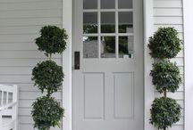 Front Doors: exterior paint colours etc.