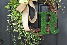 Flower arrangements - wreaths