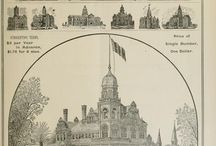 COURT HOUSES / Cities, Towns and County Court Houses / by C and R Mercantile Co.