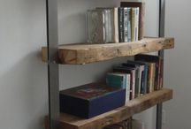 Living room shelves
