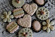 Pretty cookies / Cookies too pretty to eat ;P