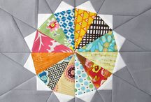 art quilts: circles and curves