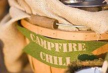 Baby Colt's Campfire Shower