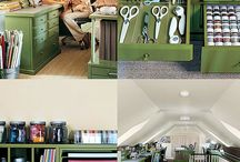 Ideas for our craft room / by Tammy Dazé