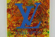 Quadri moderni Louis Vuitton / Quadri per arredamento moderno Louis Vuitton  Dipinti su tela Acquista su www.colorscrazy.it