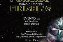 Forgraf Finishing / ROMA 7-8-9 Aprile 2016 FORGRAF FINISHING DAYS  Evento per Arti Grafiche e Centri Stampa Holiday Inn  Eur Parco dei Medici Via Castello della Magliana 65 10.00 - 19.00  Per informazioni e adesioni  info@forgraf.it www.forgraf.it