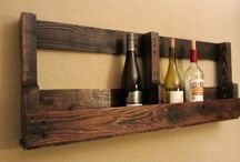 handmade with pallet