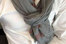 Mens' summer scarves