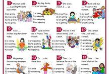 ENGLISH - Present Continuous