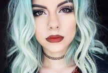 beautiful and hair