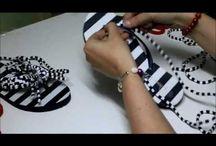 sapatinhos feitos a mão
