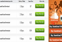 Soundcloud Download / Gathering huge audience through lots of downloads can set a good craze for your profile. You can visit the website of Social Web Promoter to get huge amount of downloader within a short period. They offer you with trustworthy services. Now, afford a little money and set your craze in music industry.