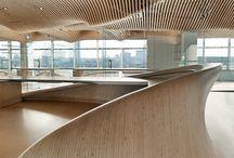 Interiors - Reception Desk