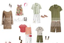 Family Portraits Style Board