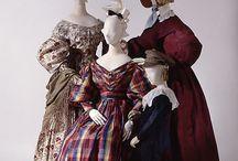 Suknie XIX wiek 1830-1839