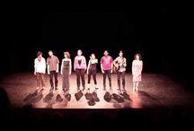 Théâtre amateur. Création collective
