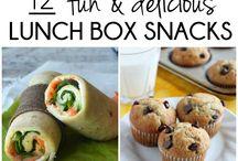 Lunch box snacks