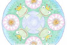 Mandala's cursisten Vrij Expressief / De mandala's die je in dit bord ziet zijn allen gemaakt door cursisten van Vrij Expressief.