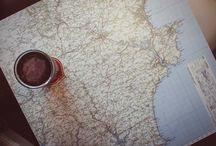 map tablecloths