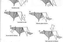 Lobo de origami