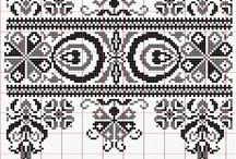 Cross stitch bordures