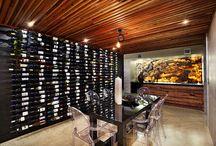 Glass half full / Wine Rooms