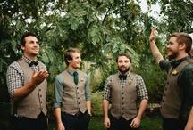 Groomsmen Attire / Ideas for what groom and groomsmen should wear.  / by Danielle Moore