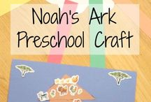 Sunday School Crafts and lessons for Toddlers